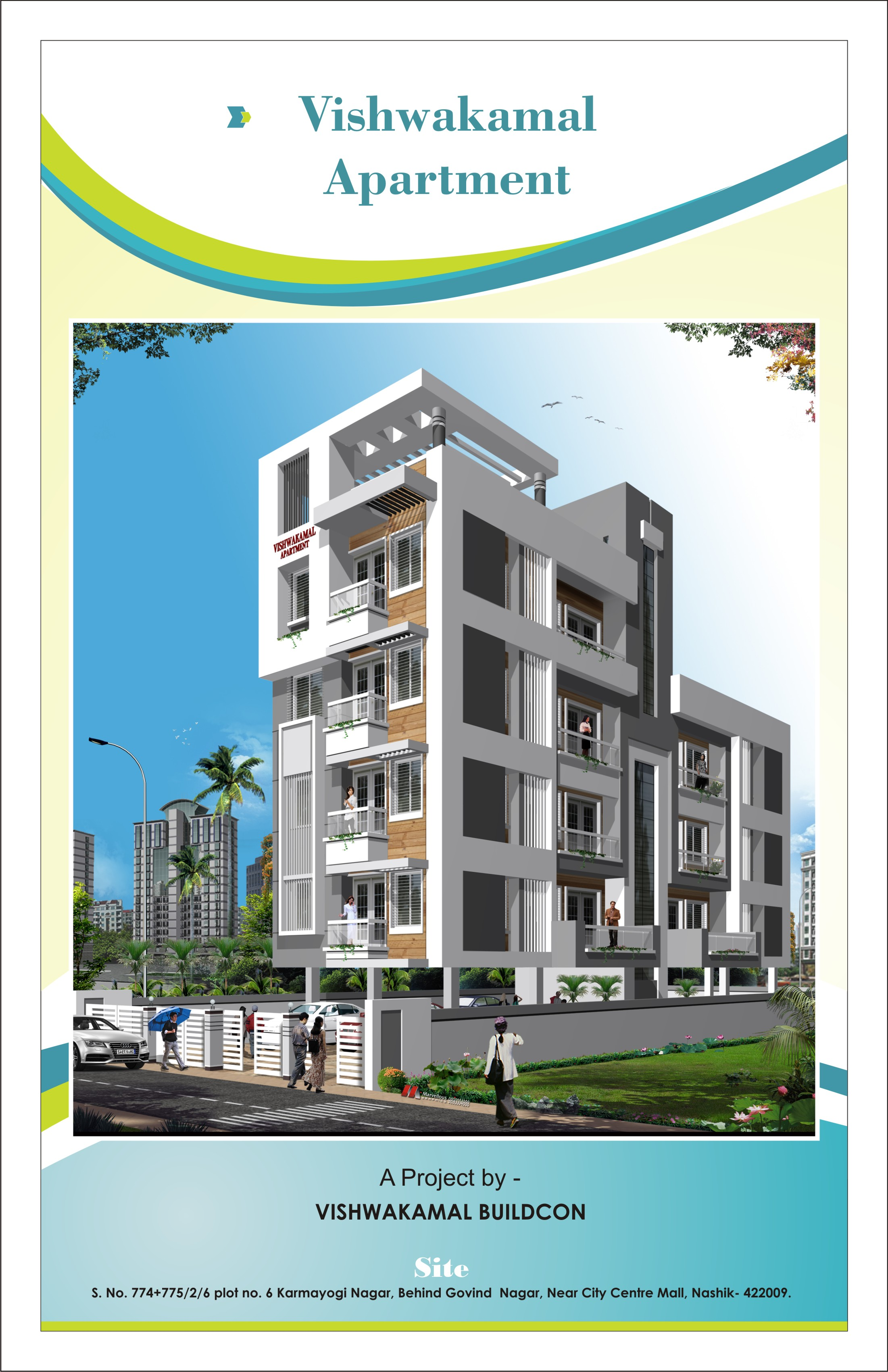 Penthouse in Nashik  3,4,5 BHK Flats/Apartments in Nashik